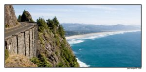 Oregon Coast Drive by NaujTheDragonfly