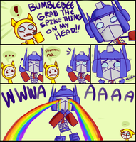 optimus is very emotional here by EarthCookies