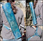 Blue leviathan quiver by akinra-workshop