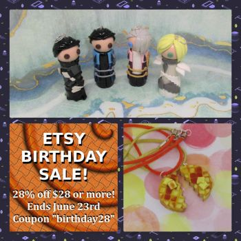 28th Birthday Etsy Sale (3) by okapirose