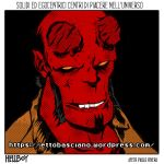 Hellboy study sketch (colored) by EttoBascianoWorks