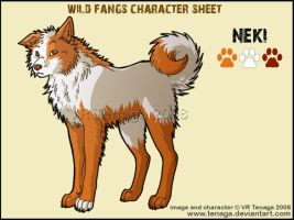 Wild Fangs Sheets_Neki by Tenaga
