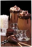 Chocolate Brownie Smoothie with Chocolate Spoon by theresahelmer