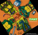 TMNT - Relaxation - Colored by nichan