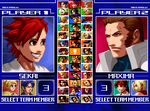 Gundam/KoF- Try Team mock screenshot by TODODeygulash