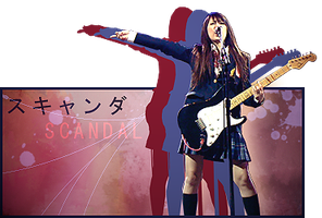 SCANDAL signature by NG-yopyop