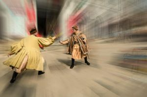Duel by marrciano