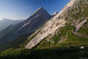 Bavarian Alps by Aphantopus