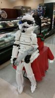 5 ft Stormtrooper balloon by DJdrummer