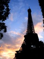 Eiffel Tower by angels-fall-down