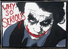 Why so serious? by AngelandJell-o