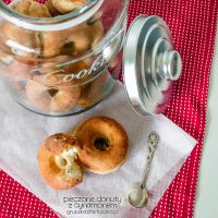 baked donuts with cinnamon sugar by Pokakulka