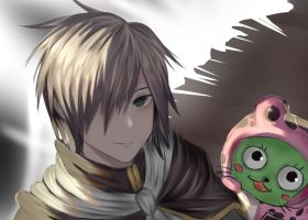 Rogue and FROSCH - fairy tail working by Fhilippe124