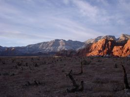 Red Rock Canyon 03 by damienkerensky
