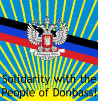 Solidarity with the People of Donbass! by DeltaHD