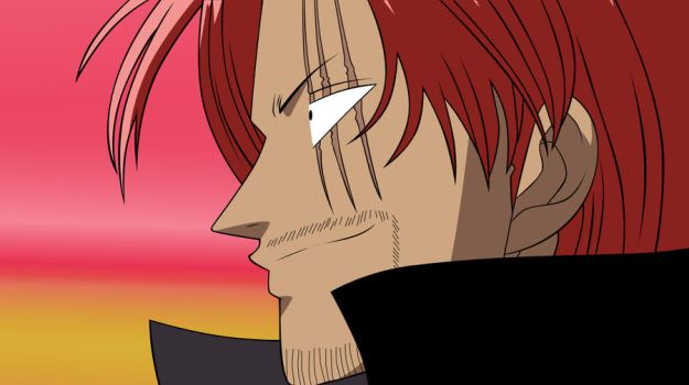 Shanks The Red Colored by lordbalda