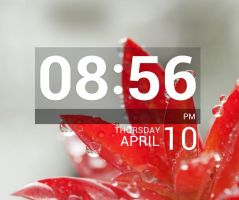 LG Optimus G LockClock for xwidget by jimking