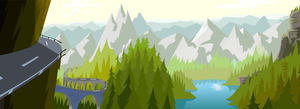 flash forests and mountains 01 by Gilmec