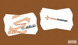 Visiting Card For Transportation Business. by ahsanawaisshah
