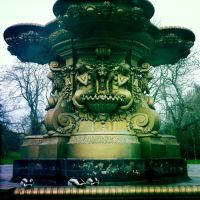 Ross Fountain by elizabethunseelie