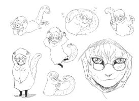 Kabuto sketches by k1deki