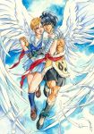 Escaflowne: The Wings by saniika