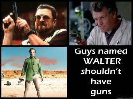 Guys Named Walter by Juliabohemian