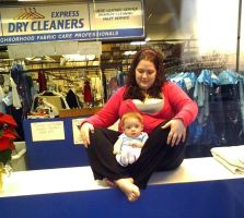 Dry Cleaners Baby by LindaLee
