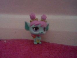 LPS Blue Fairy - Rare - by ButchxButtercup1996