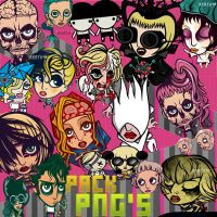 Pack Png Lady Gaga by kozzmiqo