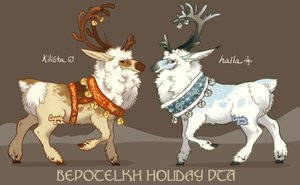 Bepotelkh Holiday DTA [CLOSED- winners chosen!] by CoyoteLuck