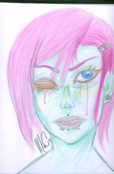 Sickened Smile by Rayne-Redfield