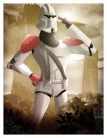 Clone Trooper by LimboTheater
