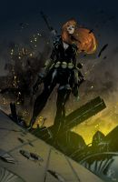 Black Widow by NicholasGentile