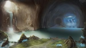 Cavern of the Forgotten. by Axonnek