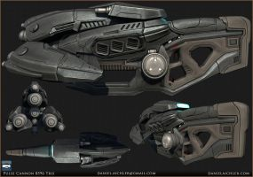 Pulse Cannon by ravital