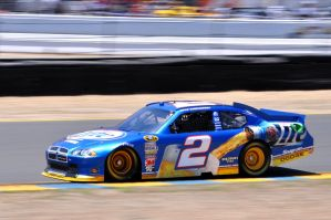 Brad Keselowski at Infineon by SharkHarrington