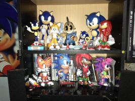Sonic and friends by facux100pre