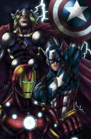 Avengers by LordWilhelm