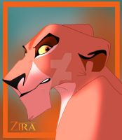 Zira The Lioness by dyb
