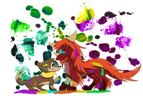 Raskah Contest Entry-Needs more color!! by Rocket14