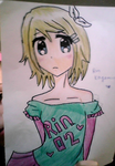 Rin Kagamine Casual~ by MoonlitWanderer
