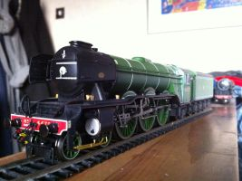 Hornby LNER 4472 Flying Scotsman (Front) by Appletart-Longshot