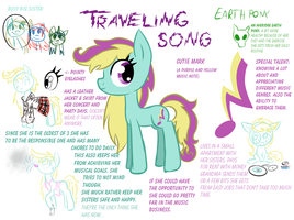 Meet Traveling Song the Earth Pony by Reporter-Derpy