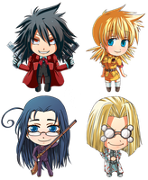 Hellsing Sticker Batch 1 by Fuu-kun