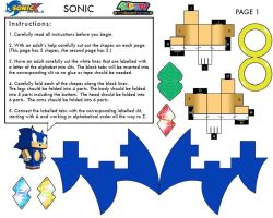 Sonic Cubee 1 by Raza5