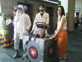 OhayoCon 2012-Portal by nina8705