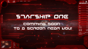STARSHIP ONE -PREVIEW- by StArL0rd84