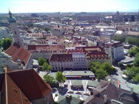 Top View of Munich 31 by Saphierra