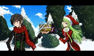 A Code Geass Christmas by Koriiko-chan
